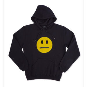 STFU HOODIE Color: BLACK ALL SIZES  Fleece hood